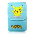 Pikachu Soft Case Bag Pouch for NDSi/NDSL Blue