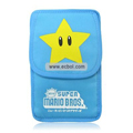 Star Soft Case Bag Pouch for NDSi/NDSL Blue