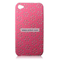 Protective Back Case for Apple iPhone 4th / 4G - Rose