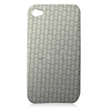 Protective Back Case for Apple iPhone 4th / 4G - White