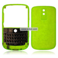 Transparent Compatible Front And Back Housing With Keypad For Blackberry 9000 Mobile Phone - Green