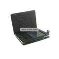 Protective Leather Case with Stand Mount Holder for Apple iPad - Black