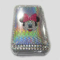 Brand New Minne Mouse Bling Crystal Diamond Rhinestone Cover Case for Apple iPhone 3G 3GS