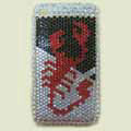 Brand New White Scorpion Bling Crystal Diamond Rhinestone Cover Case for Apple iPhone 3G 3GS