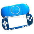 Aluminum Protector Hard Case For Sony PSP 3000 - Blue