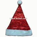 Christmas hat High-grade aluminum foil Red