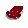 Christmas hat Thick high-grade Gold velvet Christmas decorative supplies
