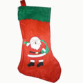 Candy Large capacity Christmas Old socks Non-woven 18L*24W*37Hcm