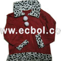 New High Children Christmas Clothing Non-woven Three-piece