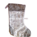 Beautiful Christmas stockings Silver 43L*28Wcm