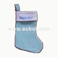 Christmas stocking Flocking E01