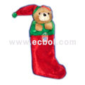 Lovely three-dimensional Cubs Christmas stocking Velvet