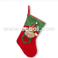 Christmas stocking cotton Christmas party props 40L*30W*37Hcm
