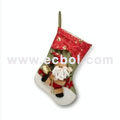 Three-dimensional snowman Christmas Stocks nylon cotton 30L*32W*37HCM