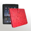 iPad Case Stone series Can support - Red
