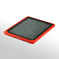 IPAD Silicone Case monkey mouth Green Silicone - Red