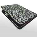 iPad 2 / The New iPad Case Luxury Snow Leopard Leather - Safflower Leopard