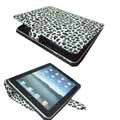 iPad 2 / The New iPad Case Luxury Snow Leopard Leather - White Leopard