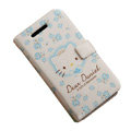 hello kitty iphone 4G case Leather Book-type - EB010