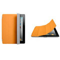 Miraculous magnetic wake smart cover for iPad 2 / The New iPad - orange