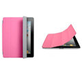 Miraculous magnetic wake smart cover for iPad 2 / The New iPad - pink