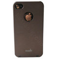 Brand new Ultra-thin scrub case for iphone 4 - brown