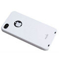 Brand new Ultra-thin scrub case for iphone 4 - white