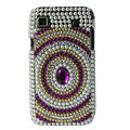 Brand New Leopard bling crystal case for Samsung i9000