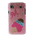 Brand New pink series crystal case for Samsung i9000 - EB002
