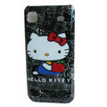 Brand New Hello Kitty Hard Case For Samsung i9000 - black