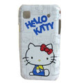Brand New White Hello Kitty Hard Case For Samsung i9000 - EB001