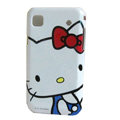 Brand New White Hello Kitty Hard Case For Samsung i9000 - EB002