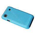 Ultra-thin scrub color covers for Samsung i9000 - blue