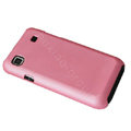 Ultra-thin scrub color covers for Samsung i9000 - pink