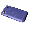 Ultra-thin scrub color covers for Samsung i9000 - purple