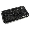 Bling crystal for Samsung i9000 case - black