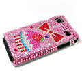 Bling crystal for Samsung i9000 case - pink EB013