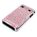 Bling crystal for Samsung i9000 case - pink