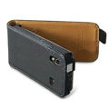 Imak Leather Case for Samsung S5830 - black