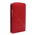 IMAK Leather case For HTC Desire HD A9191 G10 - red