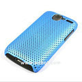 Mesh hard case For HTC G7 - blue