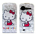 Hello Kitty Leather case For HTC G11