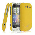 IMAK Ultra-thin color covers for HTC G13 - yellow