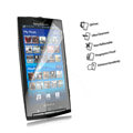 screen protective anti-fingerprint film for Sony Ericsson X10