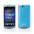 Benks silicone case for Sony Ericsson XPERIA ARC LT15I X12 - blue