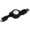 USB retractable cable for Sony Ericsson ARC LT15i X12 Neo MT15i