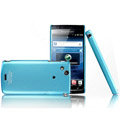 IMAK Ultra-thin color covers for Sony Ericsson Xperia Arc LT15i X12 - blue