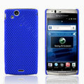 Mesh Hard Case For Sony Ericsson Xperia Arc LT15i X12 - blue