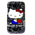 Hello Kitty color covers for Motorola MB525 - black