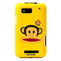 Pual Frank color covers for Motorola MB525 - yellow